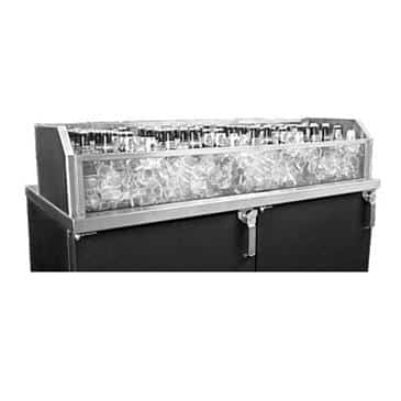 Glastender GDU-24X24 Glass Ice Display Unit