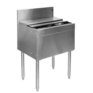 Glastender IBA-42-CP10 Underbar Ice Bin