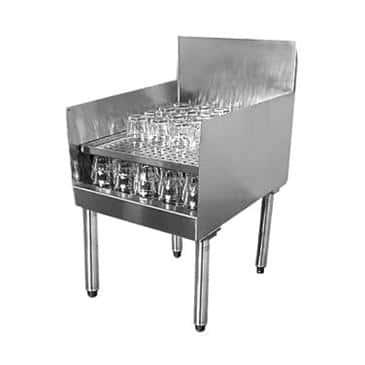 Glastender RDBB-18 Recessed Drainboard
