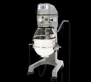 Globe SP30P 30 Quart Pizza Mixer with 1 HP, 115/60/1, 16 amps Custom Built Motor