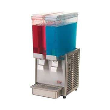 "Grindmaster-Cecilware E29-3 Crathco Classic Bubblers"" Mini (2)"" Premix Cold Beverage Dispenser"