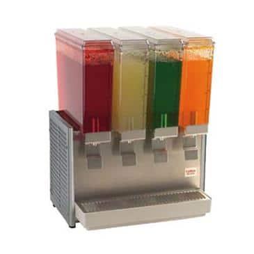 """Grindmaster-Cecilware E49-3 Crathco Classic Bubblers"""" Mini Quad"""" Premix Cold Beverage Dispenser"""
