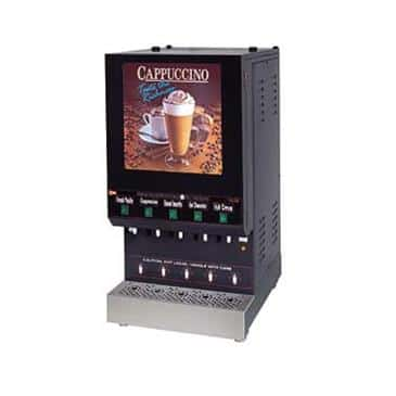Grindmaster-Cecilware GB5M10-LD Feature Flavor Hot Cappuccino Dispenser