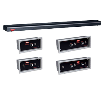 Hatco GRN4-30 Glo-Ray Narrow Halogen Foodwarmer