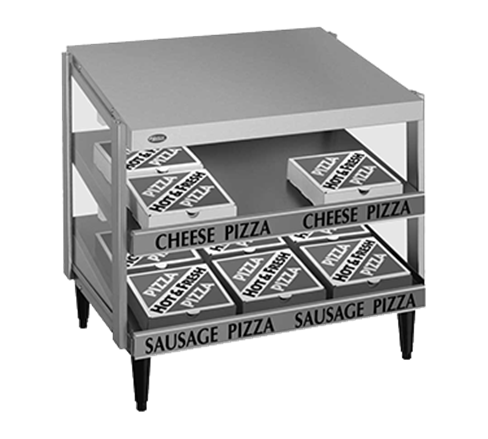 Hatco GRPWS-4824D Glo-Ray Pizza Warmer