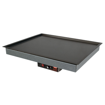 Hatco GRSB-48-I-120QS (QUICK SHIP MODEL) Glo-Ray Drop In Heated Shelf with Recessed Top