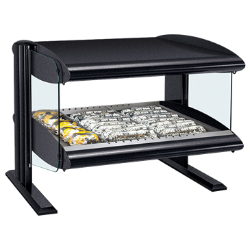 Hatco HXMH-30 Horizontal Heated Merchandiser with Xenon Lighting Warmer