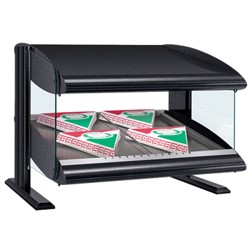 Hatco HXMS-54 Slant Heated Merchandiser with Xenon Lighting Warmer