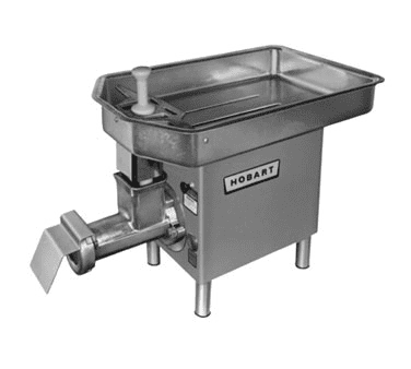 Hobart 4732+BUILDUP Hobart Meat Grinder with fixed (non-removable)
