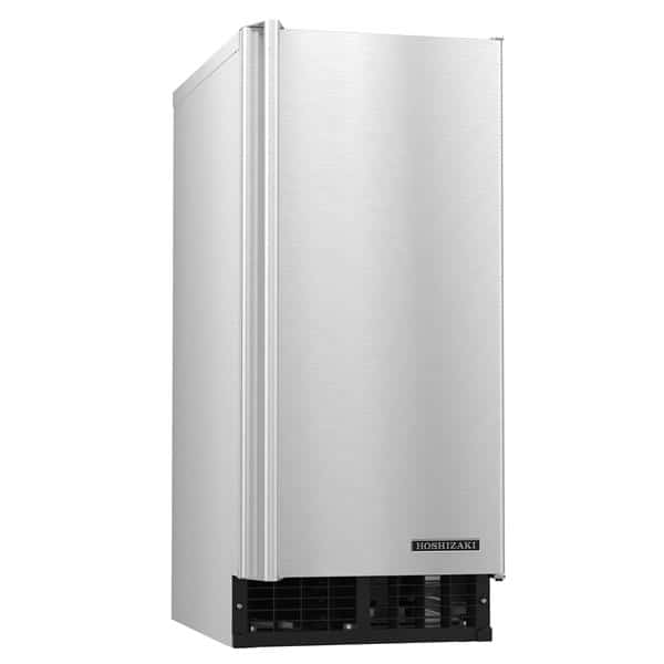 "Hoshizaki AM-50BAJ 14.88"" Full-Dice Ice Maker With Bin, Cube-Style - 50-100 lbs/24 Hr Ice Production, Air-Cooled, 115 Volts"