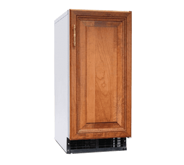 """Hoshizaki C-80BAJ-ADDS 14.88"""" Nugget Ice Maker with Bin, Nugget-Style - 50-100 lbs/24 Hr Ice Production, Air-Cooled, 115 Volts"""