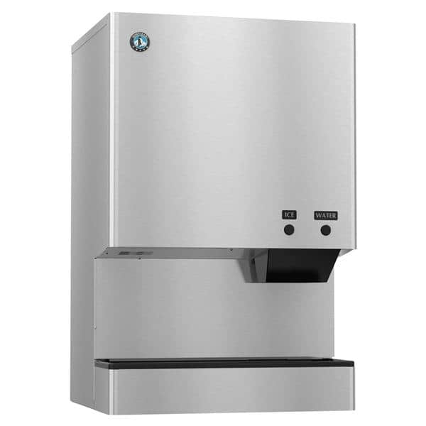 "Hoshizaki DCM-500BWH    26"" Nugget Ice Maker Dispenser, Nugget-Style - 500-600 lb/24 Hr Ice Production, Water-Cooled, 115 Volts"
