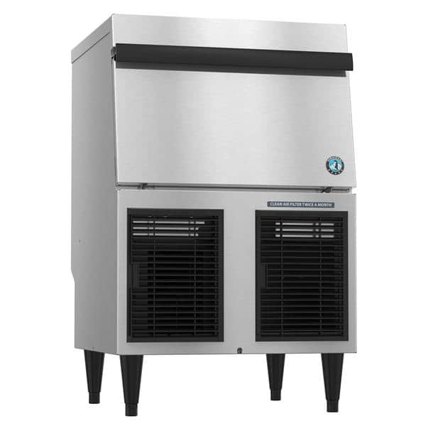 """Hoshizaki F-330BAJ-C 24"""" Nugget Ice Maker with Bin, Nugget-Style - 200-300 lbs/24 Hr Ice Production, Air-Cooled, 115 Volts"""