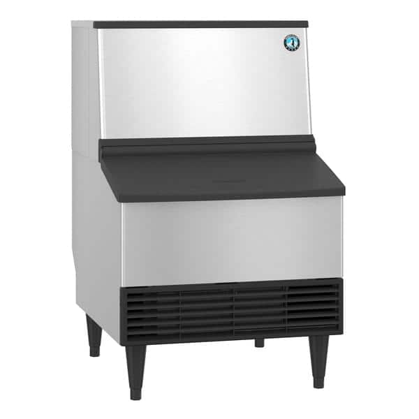 """Hoshizaki KM-231BAJ 24"""" Crescent Cubes Ice Maker With Bin, Cube-Style - 200-300 lbs/24 Hr Ice Production, Air-Cooled, 115 Volts"""