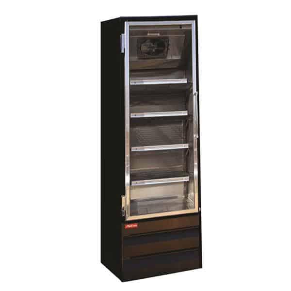 Howard-McCray GF19BM-B-FF 26.50'' 19.0 cu. ft. 1 Section Black Glass Door Merchandiser Freezer