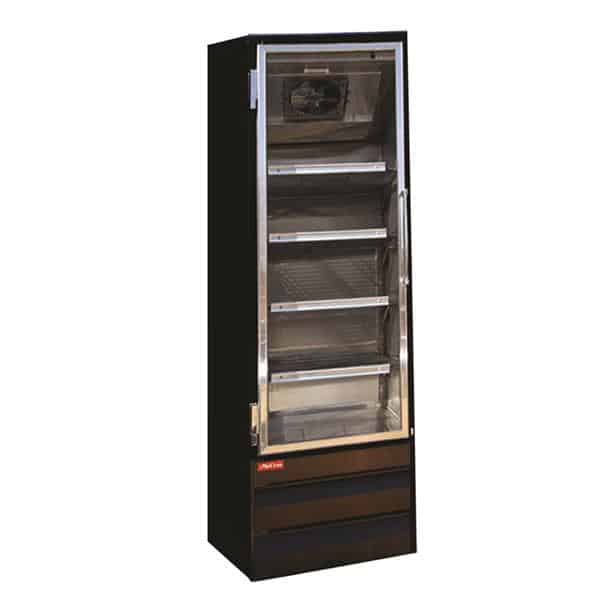 Howard-McCray GF19BM-B-LT 26.50'' 19.0 cu. ft. 1 Section Black Glass Door Merchandiser Freezer