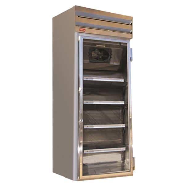 Howard-McCray GF22-FF-B 26.50'' 22.0 cu. ft. 1 Section Black Glass Door Merchandiser Freezer