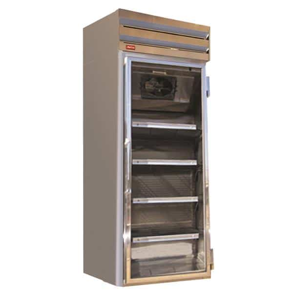 Howard-McCray GF48-LT 52.25'' 48.0 cu. ft. 2 Section White Glass Door Merchandiser Freezer