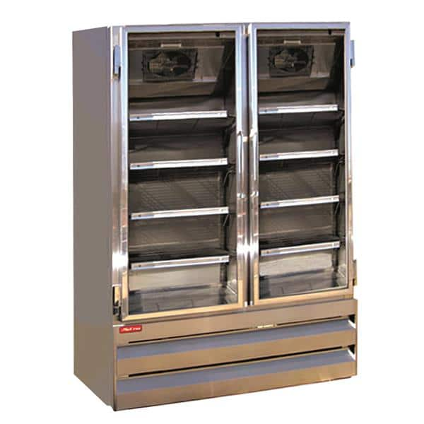 Howard-McCray GR48BM 52.25'' Section Refrigerated Glass Door Merchandiser
