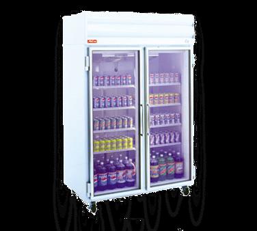 Howard-McCray GR75-B 78.00'' Section Refrigerated Glass Door Merchandiser