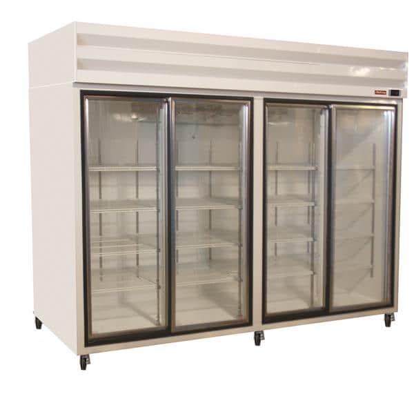 Howard-McCray GSR102 103.75'' Section Refrigerated Glass Door Merchandiser