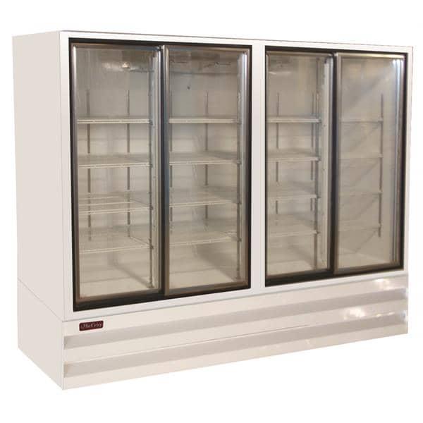 Howard-McCray GSR102BM 103.75'' Section Refrigerated Glass Door Merchandiser