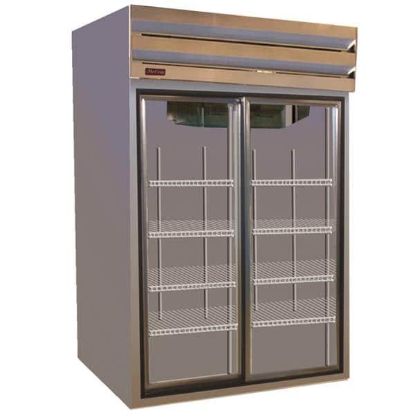 Howard-McCray GSR48 52.25'' Section Refrigerated Glass Door Merchandiser