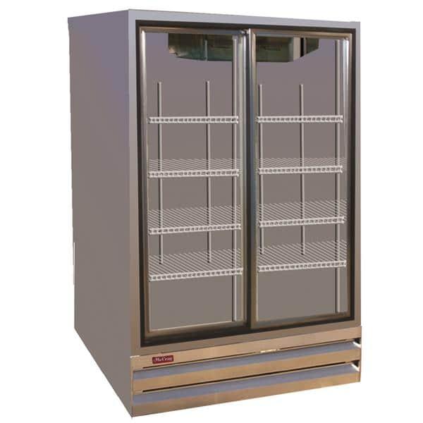 Howard-McCray GSR48BM-S 52.25'' Section Refrigerated Glass Door Merchandiser