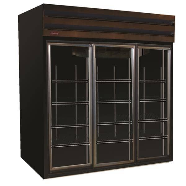 Howard-McCray GSR75 78.00'' Section Refrigerated Glass Door Merchandiser
