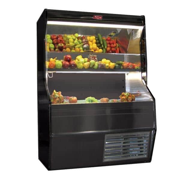 Howard-McCray R-P32E-8S-B-LED Produce Open Merchandiser
