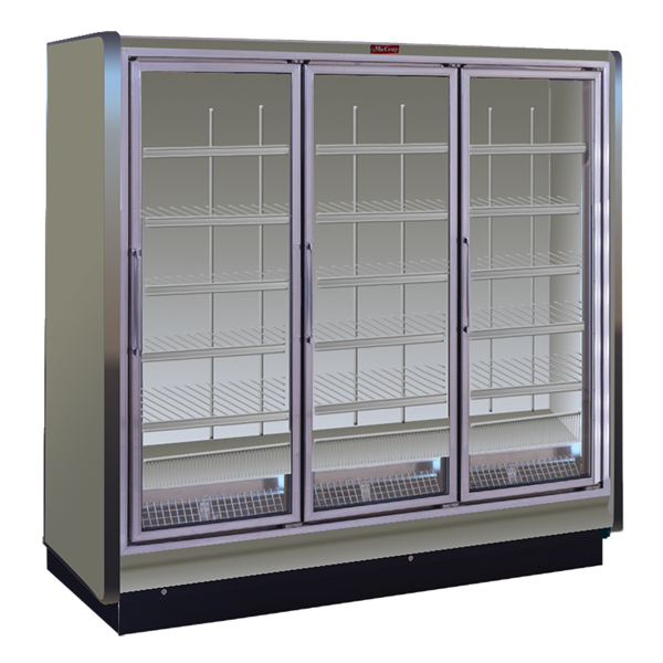 Howard-McCray RIN3-24-LED 78.88'' Section Refrigerated Glass Door Merchandiser