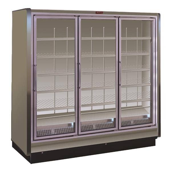 Howard-McCray RIN3-30-LED 98.50'' Section Refrigerated Glass Door Merchandiser