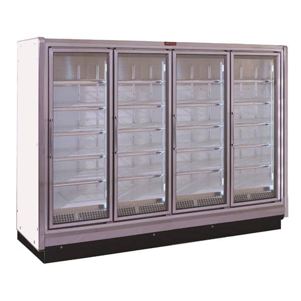 Howard-McCray RIN4-30-LED-S 128.50'' Section Refrigerated Glass Door Merchandiser