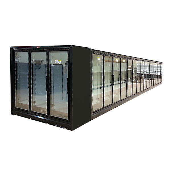 Howard-McCray RIN5-24-LED-B 126.13'' Section Refrigerated Glass Door Merchandiser