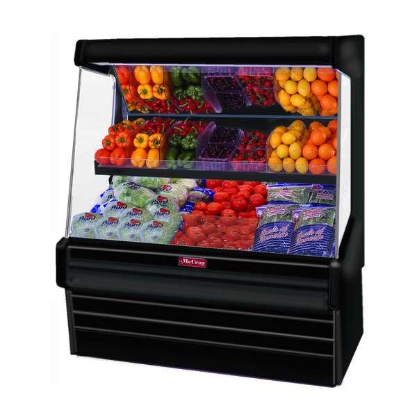 Howard-McCray SC-OP30E-8L-B-LED  Produce Open Merchandiser