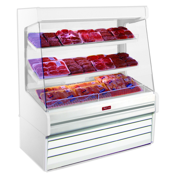 Howard-McCray SC-OP30E-8L-S-LED  Produce Open Merchandiser