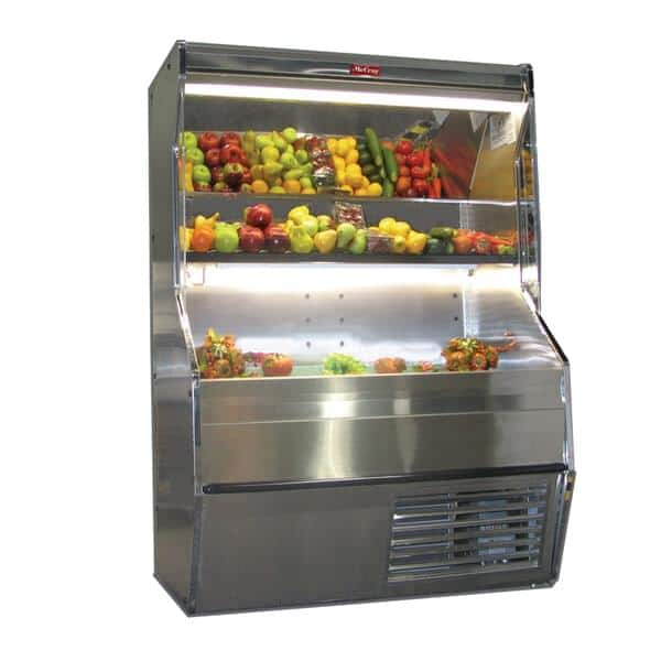 Howard-McCray SC-P32E-6S-S-LED Produce Open Merchandiser