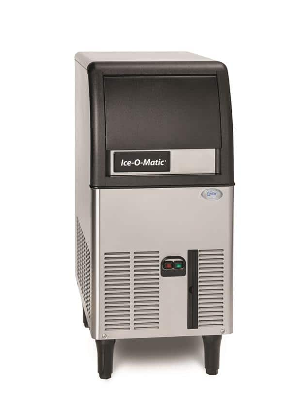 "ICE-O-Matic ICEU070A 15.2"" Half-Dice Ice Maker With Bin, Cube-Style - 50-100 lbs/24 Hr Ice Production, Air-Cooled, 115 Volts"