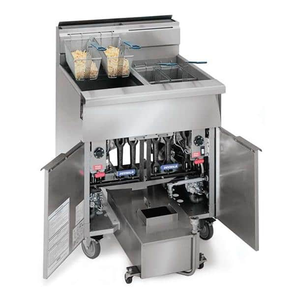 Imperial IHRSP-375T Diamond Series Heavy Duty Range Match  Fryer