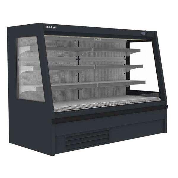 Infrico USA IAG-SML12M1 52.34'' Air Curtain Open Display Merchandiser with