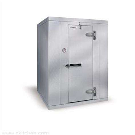 "Kolpak KF7-1010-CR  Kold-Front Walk-In Cooler 7'-6.25"" H, 9'-8"" W, 9'-8"" L with Era floor"