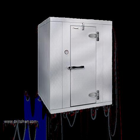 "Kolpak KF7-0612-FR Walk-In Freezer 7'-6.25"" H, 5'-10"" W, 11'-7"" L with Era floor"