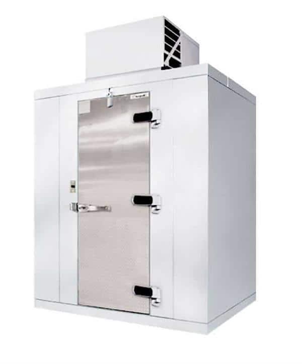 "Kolpak P7-0610-FT Walk-In Freezer 7'-6.25"" H, 5'-10"" W, 9'-8"" L with Era floor"