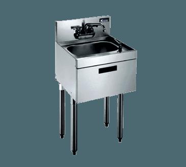 Krowne Metal Metal KR18-12DST Royal 1800 Series Underbar Hand Sink
