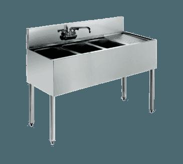 Krowne Metal Metal KR18-43L Royal 1800 Series Underbar Sink Unit