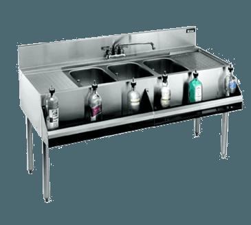 Krowne Metal Metal KR18-63C Royal 1800 Series Underbar Sink Unit