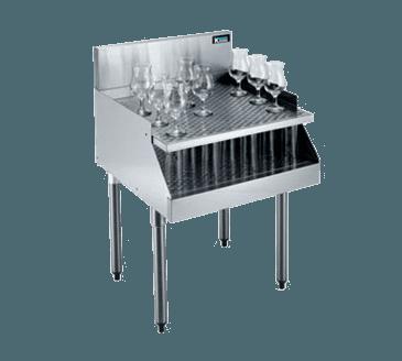 Krowne Metal Metal KR18-RG24 Royal 1800 Series Underbar Recesssed Drainboard