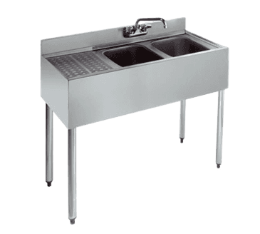 Krowne Metal Metal KR21-32R Royal 2100 Series Underbar Sink Unit