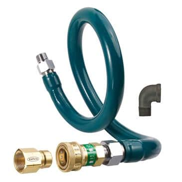 Krowne Metal Metal M12536K1 Royal Series Moveable Gas Connection Kit