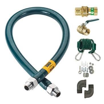 Krowne Metal Metal M12560K Royal Series Moveable Gas Connection Kit